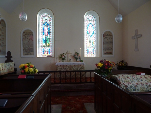 Interior of All Saints, Girsby