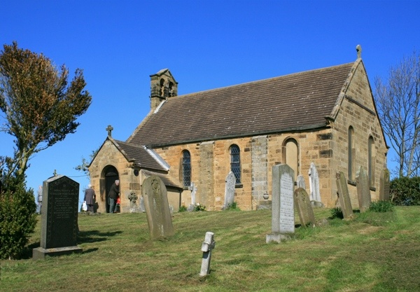 Sunny Exterior of All Saints
