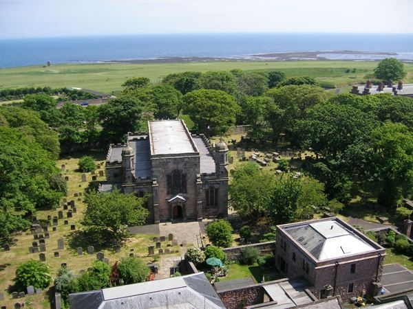 Church and Coastline