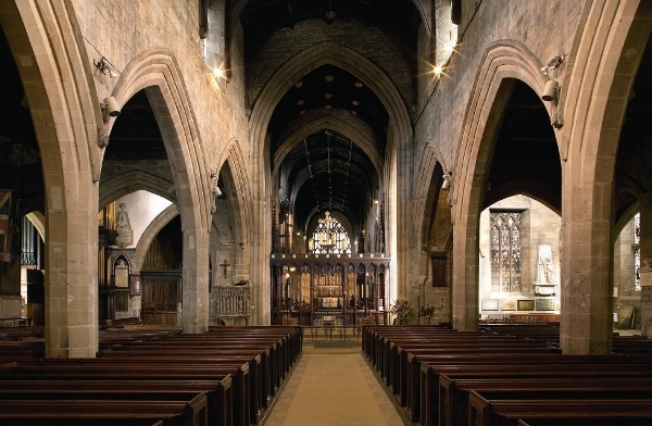 The Nave at St Nicholas