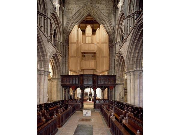 Interior of Hexham Abbey
