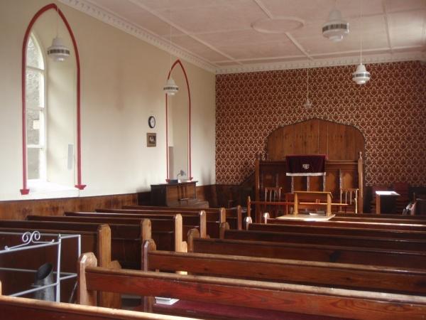 Keenley Methodist Chapel - Internal View