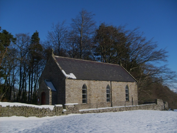 Keenley Methodist Chapel - Winter View