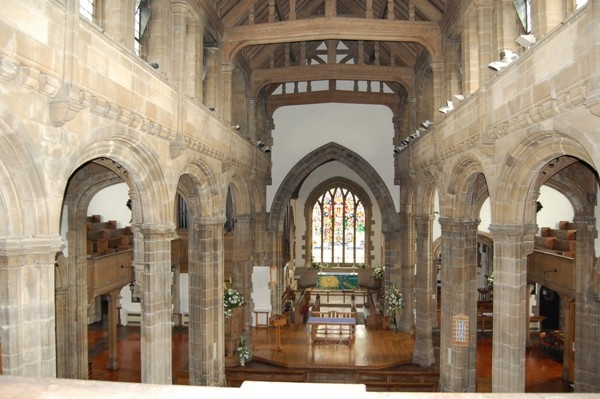 Interior of Sunderland Minster