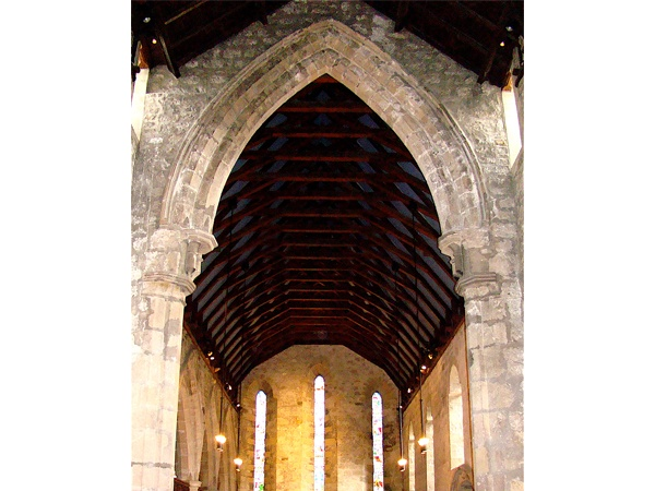 The 13thC Nave Arch