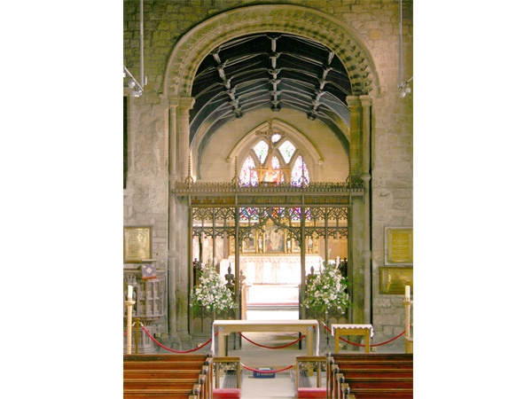 View of the Chancel at St Andrew's