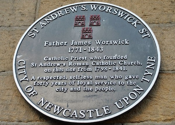 James Worswick Wall Plaque