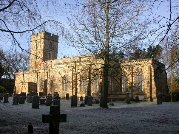 Frosty Churchyard