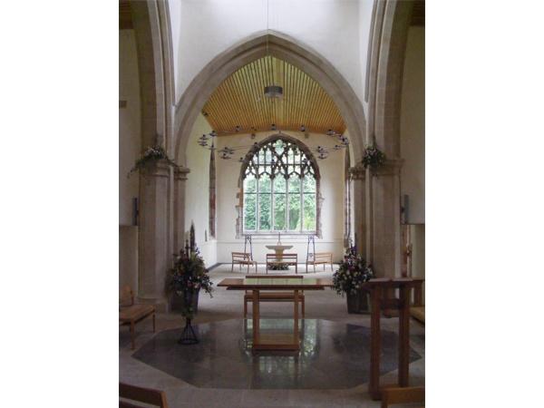 Interior of St Brandon's