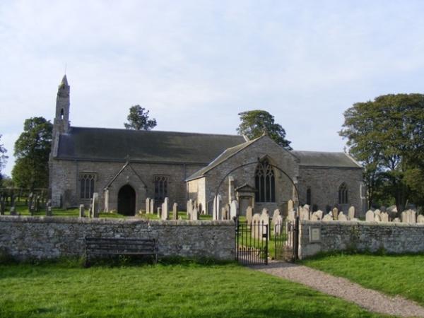 St Cuthberts Church in Elsdon