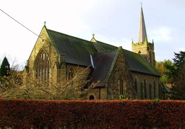 Autumn Scene of St Cuthberts