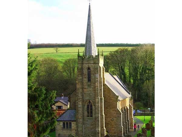 St Cuthbert's Against the Landscape