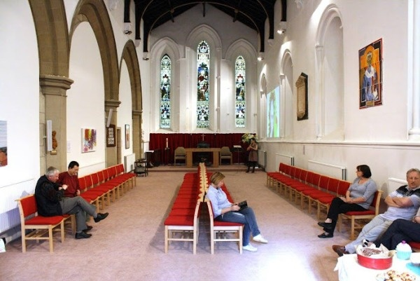 Interior of St Edmunds
