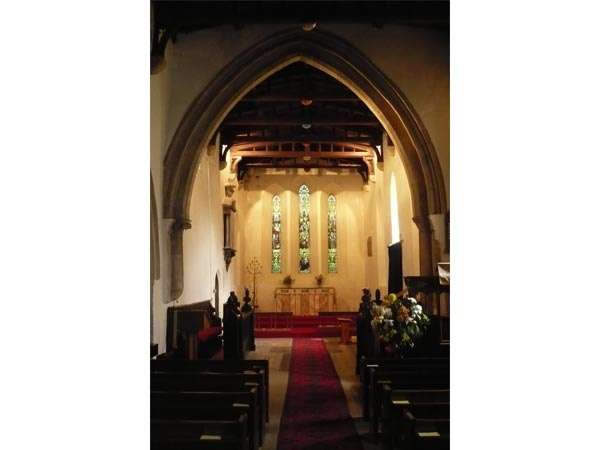 Chancel Arch at St Edwin's