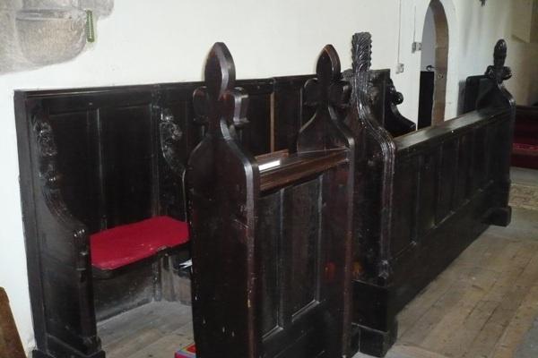 Choir Stalls at St Edwin's