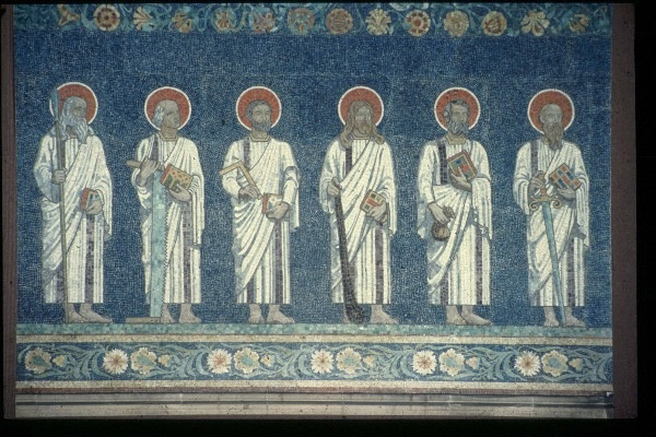 Apostle Mosaics in the Chancel