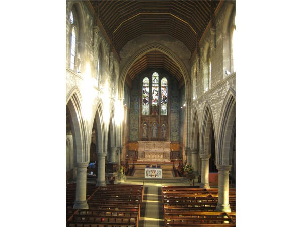 Interior of St George's at Jesmond