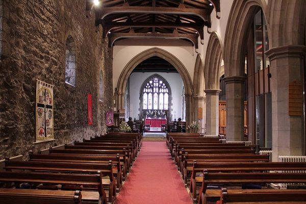 Durham St Giles Nave