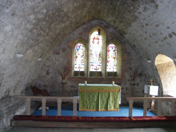 Interior of St Gregory's