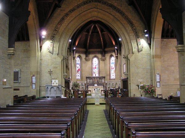 Church Interior at St Helen's