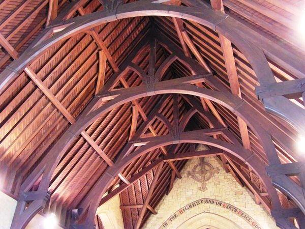 Roof at St Helen's