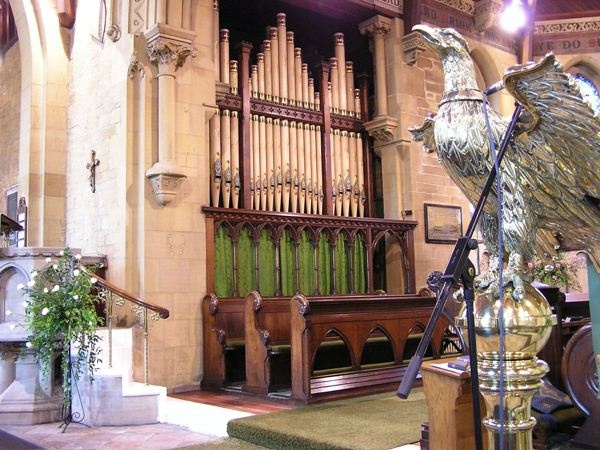 The Organ at St Helen's