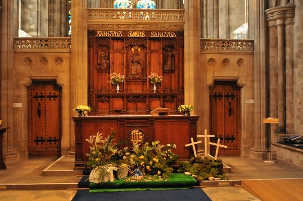 The Altar at St Hilda's
