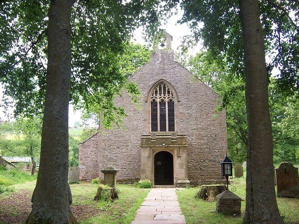 Garrigill St John Chancel - Front door