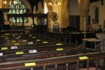 Interior of St John the Baptist's Church