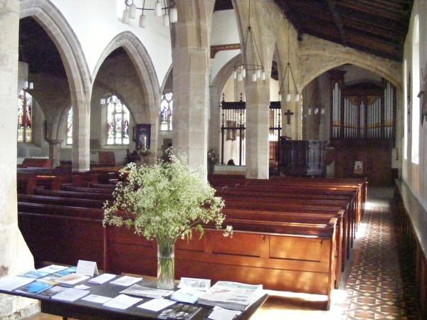 Interior of St John's, Newcastle