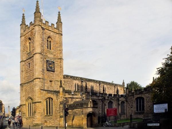 St John's Church Tower and Clockface