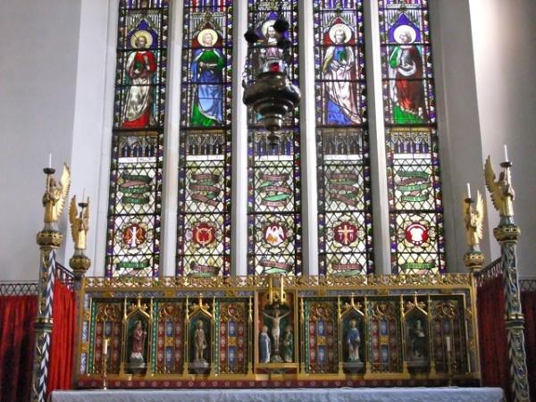 The High Altar at St John's
