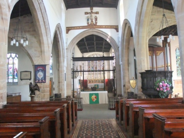 The Nave in St John the Baptist's Church