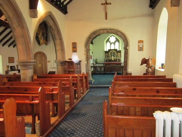 Interior of Trimdon Church