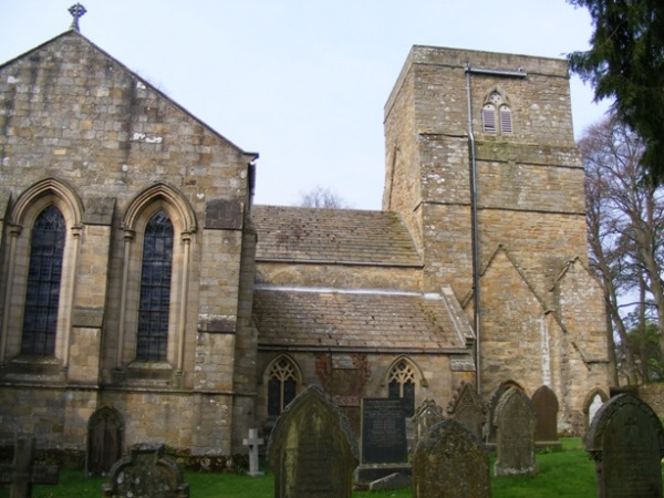 St Marys Church in Blanchland