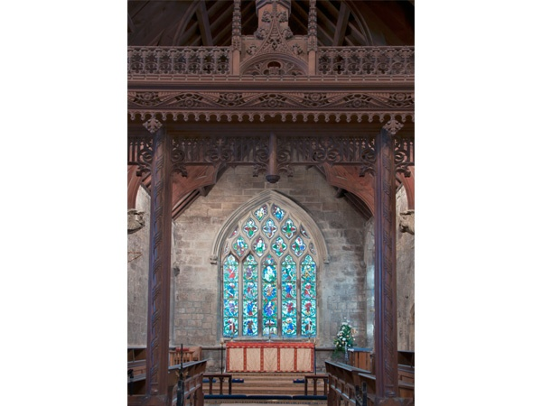 Chancel, Jesse Window and Screen