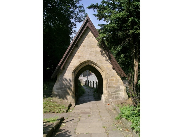 The Lych Gate at St Mary's