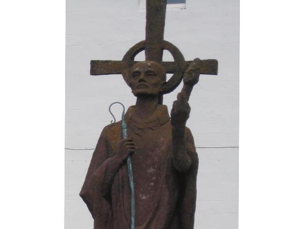 Statue of St Aidan