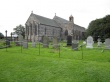 St Marys Church and Churchyard at Holy Island
