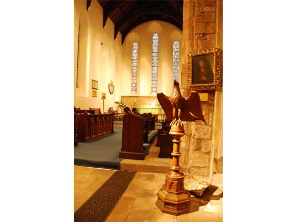 Interior of St Mary's, Ovingham