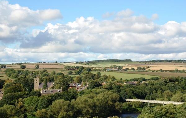Landscape in Ovingham