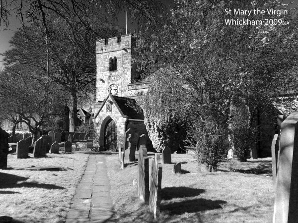 St Mary's in Black and White