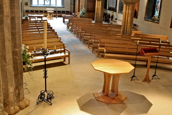 The Nave at St Michael and All Angels Church