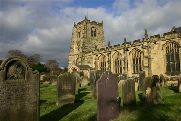St Michaels Church in Alnwick