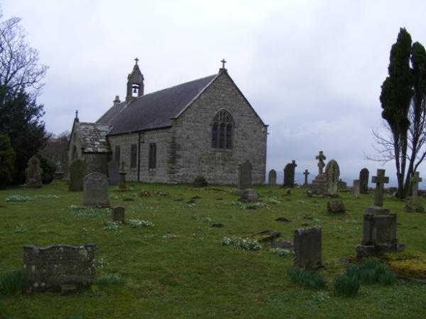 Outside St Oswalds Church