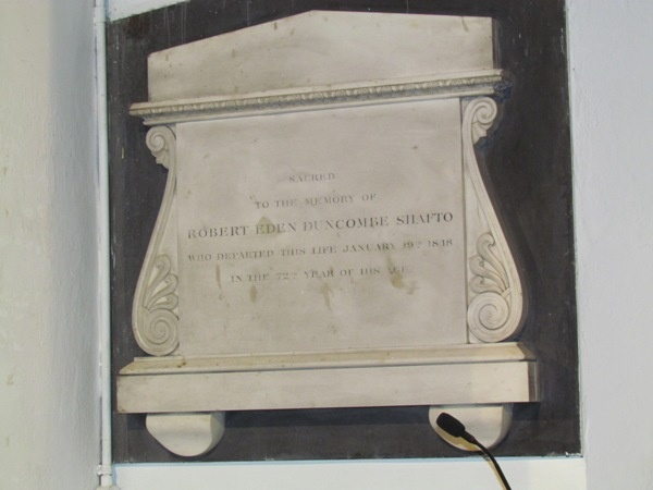 Shafto Memorial