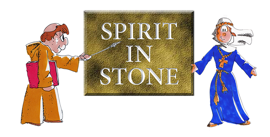 Spirit in Stone cartoon logo