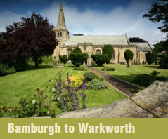 Bamburgh to Warkworth Coastal Churches Trail